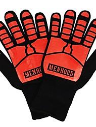 Недорогие -1 пара Термостойкое волокно Защитные перчатки Безопасность и защита Износостойкий Пожарный выход