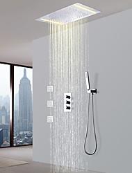 cheap -Shower Faucet - Contemporary Chrome Brass Valve