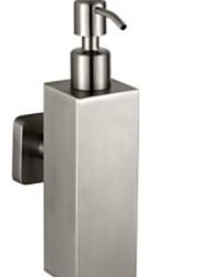 Недорогие -Дозатор для мыла Новый дизайн / Многофункциональный Нержавеющая сталь 1шт На стену