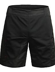 baratos -Jaggad Mulheres Bermudas Acolchoadas Para Ciclismo Moto Shorts / Shorts largos / Bermudas para MTB Respirável, Tapete 3D Sólido, Xadrez / Quadrados Poliéster, Elastano Preto Roupa de Ciclismo