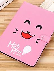 Недорогие -Кейс для Назначение Apple iPad Mini 3/2/1 / iPad Mini 4 Бумажник для карт / со стендом / Флип Чехол Мультипликация Твердый Кожа PU