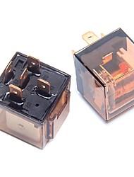 Недорогие -ziqiao 2шт 80a / 24v 5-контактный автомобильный автоматический переключатель реле spdt для автомобиля
