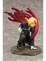billiga -Anime Actionfigurer Inspirerad av Fullmetal Alchemist Edward Elric pvc CM Modell Leksaker Dockleksak Unisex