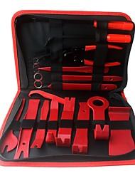 Недорогие -ziqiao 19шт. автомобиль ремонт разборка инструменты комплект автомобиль dvd стерео набор для ремонта внутренняя пластиковая обшивка панель приборная панель установка инструмент для удаления