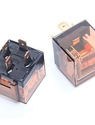 Недорогие -ziqiao 2шт 80a / 24v 4-контактный автомобильный автоматический переключатель реле spdt для автомобиля