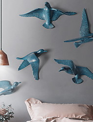 cheap -Landscape Wall Decor Plastics Animals Wall Art, Wall Signs Decoration