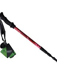 Недорогие -4 Секции Трекинговые палки Аксессуары 125см С компактным кабелем Вольфрам Углеродное волокно Альпинизм