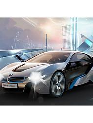 Недорогие -Машинка на радиоуправлении Rastar 49600 10.2 CM Инфракрасный Автомобиль 1:14 8.2 km/h Подсветка / На пульте управления / Светящийся