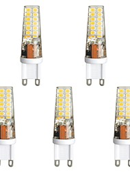 abordables -5pcs 3 W 300 lm G9 LED à Double Broches T 28 Perles LED SMD 2835 Blanc Chaud / Blanc 85-265 V