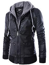 Недорогие -Муж. Куртка Классический - Контрастных цветов