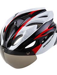 Недорогие -Взрослые Мотоциклетный шлем 16 Вентиляционные клапаны ESP+PC, ПК Виды спорта Велосипедный спорт / Велоспорт / Велоспорт / Мотоцикл - Розовый / Красный / Белый / Синий / белый Универсальные