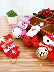 Недорогие -рождественский колокол дерево висит украшение украшения маленький колокол домашняя обстановка украшение украшения из дерева маленькие праздничные подарки