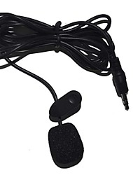 Недорогие -Clip Microphone 3,5 мм Микрофон Микрофон Ленточный микрофон Микрофон с клипсой Назначение Общего назначения