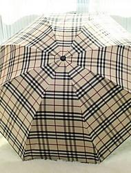 baratos -Aço Inoxidável Todos Ensolarado e chuvoso / Novo Design Guarda-Chuva Dobrável