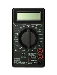 Недорогие -ismartdigi idt830b.5 lcd карманный цифровой мультиметр для домашнего автомобиля (черный / желтый)