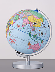 abordables -Globe terrestre illuminé de 9 pouces aventure ar géographie du monde éducatif enfants - jouet d'apprentissage