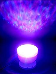 abordables -brelong 1 pc bluetooth musique led océan projection étoile lumière dc5v usb alimentation