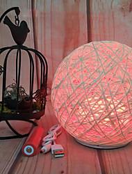 billige Originale lamper-HKV 1set LED Night Light RGB Usb Oppladbar / Mulighet for demping / Berør sensoren 5 V