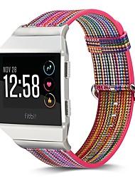 Недорогие -Настоящая кожа Ремешок для часов Ремень для Apple Watch Series 3 / 2 / 1 Серебристый металл 23см / 9 дюйма 2.1cm / 0.83 дюймы