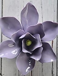 Недорогие -Цветы и растения Декор стены Керамика Пастораль Предметы искусства, Гобелены Украшение