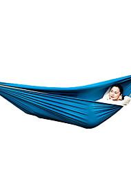 baratos -TANXIANZHE® Rede de Acampamento Ao ar livre Leve, Viagem, Dobrável Poliéster para Campismo - 1 Pessoa Azul