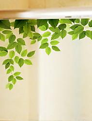 Недорогие -Оконная пленка и наклейки Украшение Современный Цветы ПВХ Стикер на окна