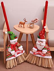 billige -Party Tilbehør Ikke-vævet Jul / Fest / aften Jul / Julemands Dragt / Snemand Gaver til gæsterne, dekoration