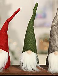 Недорогие -Аксессуары для вечеринок Рождество / Вечеринка / ужин Орнаменты / Фавор украшения Нетканые Новогодняя тематика / Креатив