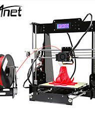 cheap Valentine's Day Sale-Anet A8 High Precision High Quality FDM Desktop DIY 3D Printer(Assembly instructions in SD card)