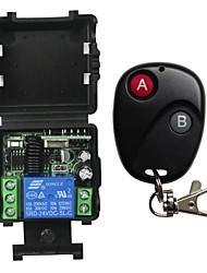 Недорогие -12v одиночный беспроводной пульт дистанционного управления переключатель электрический контроль дверь / контроль доступа пульт дистанционного управления набор