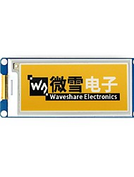 Недорогие -wavehare 2.9inch e-paper module (c) 296x128 2.9 дюймовый модуль отображения электронных чернил желтый / черный / белый трехцветный