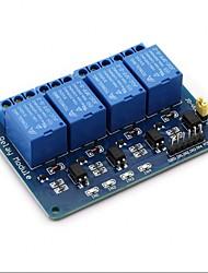 baratos -Módulo de relé 4 canais dc 5 v para arduino framboesa pi dsp avr pic braço