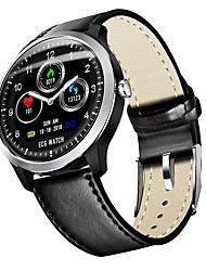 baratos -BoZhuo N58 pro Pulseira inteligente Android iOS Bluetooth Esportivo Impermeável Monitor de Batimento Cardíaco Medição de Pressão Sanguínea Tela de toque ECG + PPG Podômetro Aviso de Chamada Monitor