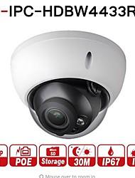 Недорогие -dahua® ipc-hdbw4433r-s 4-мегапиксельная камера заменяет ipc-hdbw4431r-s с слотом для карт памяти poe sd ik10 ip67 starnight smart detect