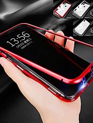 Недорогие -Кейс для Назначение Apple iPhone XR / iPhone XS Max Защита от удара / Магнитный Чехол Однотонный Твердый Металл для iPhone XS / iPhone XR / iPhone XS Max