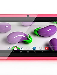 baratos -Q88 Tablet Android (Android 4.4 1024 x 600 Quad Core 1GB+8GB) / 32 / Mini USB / Protetor de Entrada de Fones 3.5mm