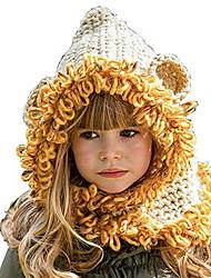 Недорогие -Дети Девочки Милая Контрастных цветов Хлопок Головные уборы Белый / Желтый Один размер