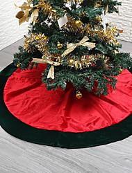 abordables -Noël Vacances / Arbre de Noël Circulaire Soirée Décoration de Noël