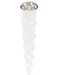 abordables -Lampe suspendue Lumière dirigée vers le bas Plaqué Métal LED 110-120V / 220-240V Blanc Crème / Blanc Neige Ampoule incluse / GU10