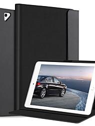 Недорогие -BENTOBEN Кейс для Назначение Apple iPad (2018) / iPad (2017) Защита от удара / со стендом / Флип Чехол Однотонный Мягкий Кожа PU для iPad (2018) / iPad (2017)