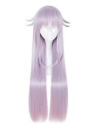 Недорогие -Косплэй парики Косплей Косплей Светло-лиловый Аниме Косплэй парики 80 дюймовый Термостойкое волокно Универсальные Хэллоуин парики