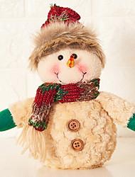 Недорогие -Рождество Праздник Ткань / Хлопок Для вечеринок Рождественские украшения