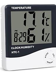 Недорогие -в помещении комната жк-электронный измеритель температуры влажность цифровой термометр гигрометр метеостанция будильник