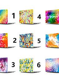 """Недорогие -MacBook Кейс Геометрический рисунок / Цветы ПВХ для Новый MacBook Pro 15"""" / Новый MacBook Pro 13"""" / MacBook Pro, 15 дюймов"""