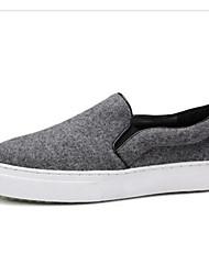 Недорогие -Жен. Комфортная обувь Нейлон Весна Кеды На плоской подошве Серый
