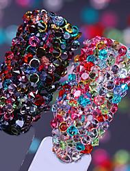 abordables -1 pcs Bijoux pour ongles Strass Classique / Haute Transparence Mariage Balle Manucure Manucure pédicure Fête / Soirée / Quotidien / Soirée de Fiançailles Artistique / Lolita Aristocrate