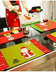 abordables -Rangement de Table Accessoires Parti Noël / Fête / Soirée Noël / Costumes de père noël / Elk Non-tissé