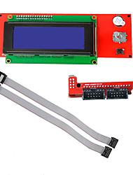 Недорогие -3D-принтер RepRap Smart контроллер RepRamp рампы 1,4 2004 ЖК-контроль