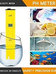 Недорогие -1 pcs Пластик Измерение влажности Многофункциональный / Удобный / Измерительный прибор 0-14PH RZ-PH124 I
