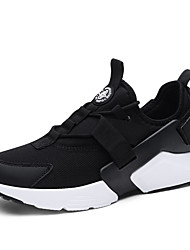 abordables -Homme Chaussures de confort Tricot Printemps Sportif / Décontracté Chaussures d'Athlétisme Course à Pied Massage Blanc / Noir / Gris